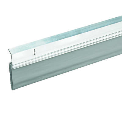 Frost King  Pro Grade  Silver  Aluminum  Sweep  For Doors 36 in. L x 2.375 in.