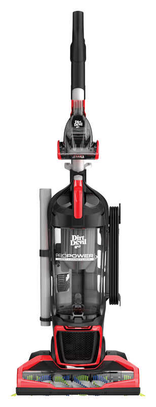 Dirt Devil  Pro Power  Bagless  Upright Vacuum  12 amps Standard  Red