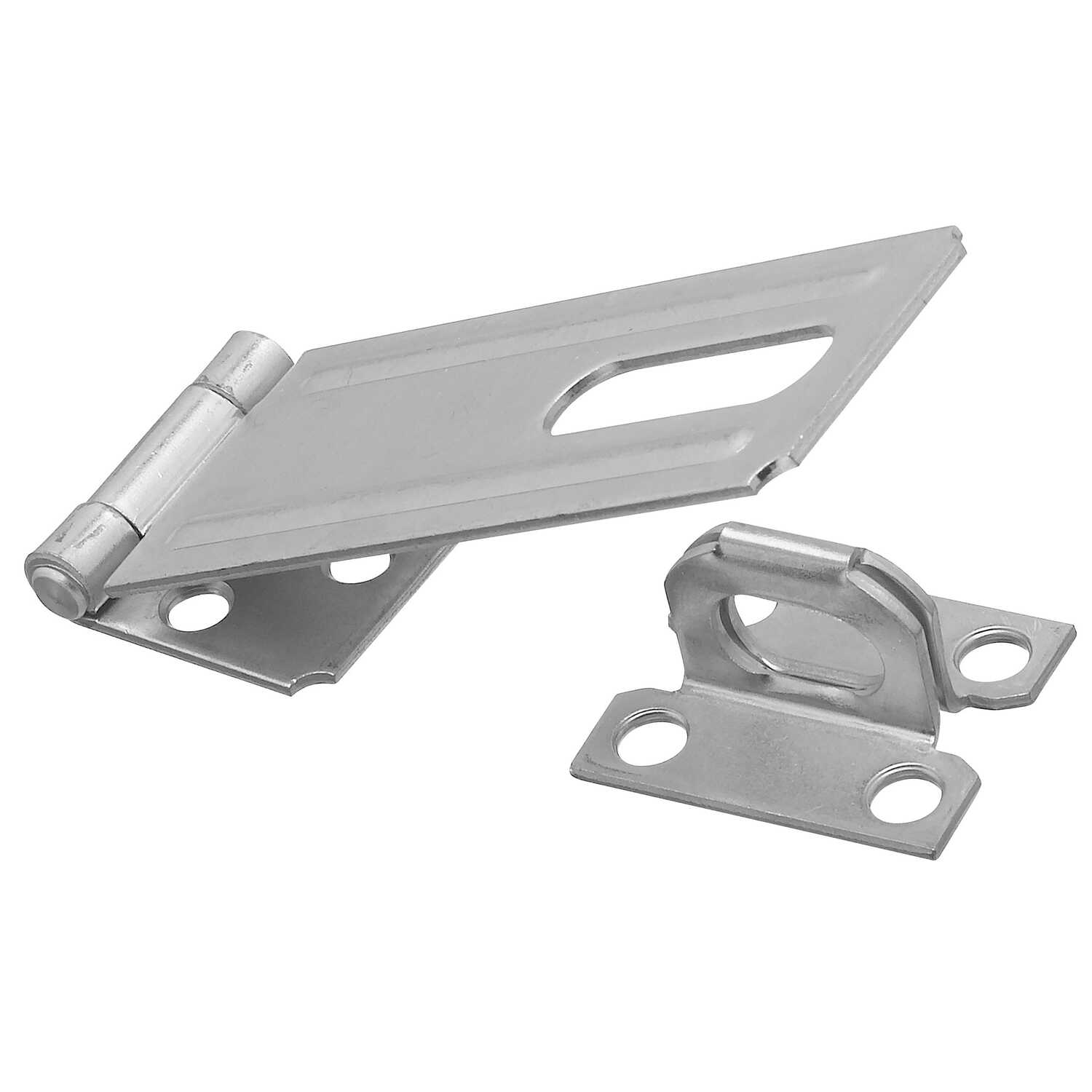 National Hardware  Zinc-Plated  Steel  4-1/2 in. L Safety Hasp  1