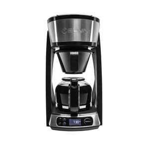 BUNN  Heat N' Brew  10 cups Black/Silver  Coffee Maker