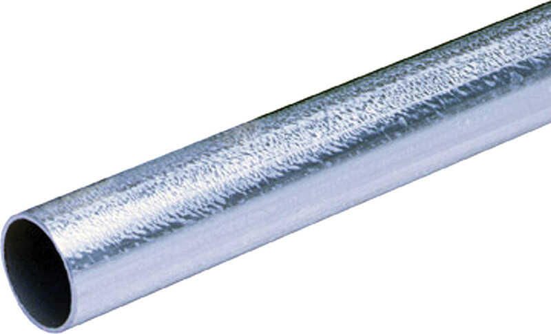 Allied Moulded  1-1/4 in. Dia. x 10 ft. L Galvanized Steel  Electrical Conduit  For EMT