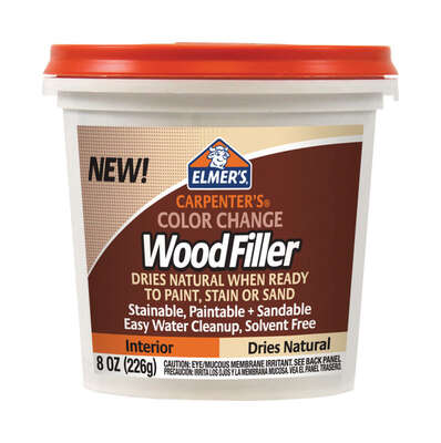 Elmer's  Carpenter's  Natural  Wood Filler  8 oz.