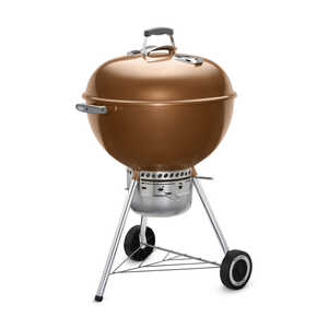 Weber  Original Premium  Charcoal  Copper  Kettle Grill  22 in. W