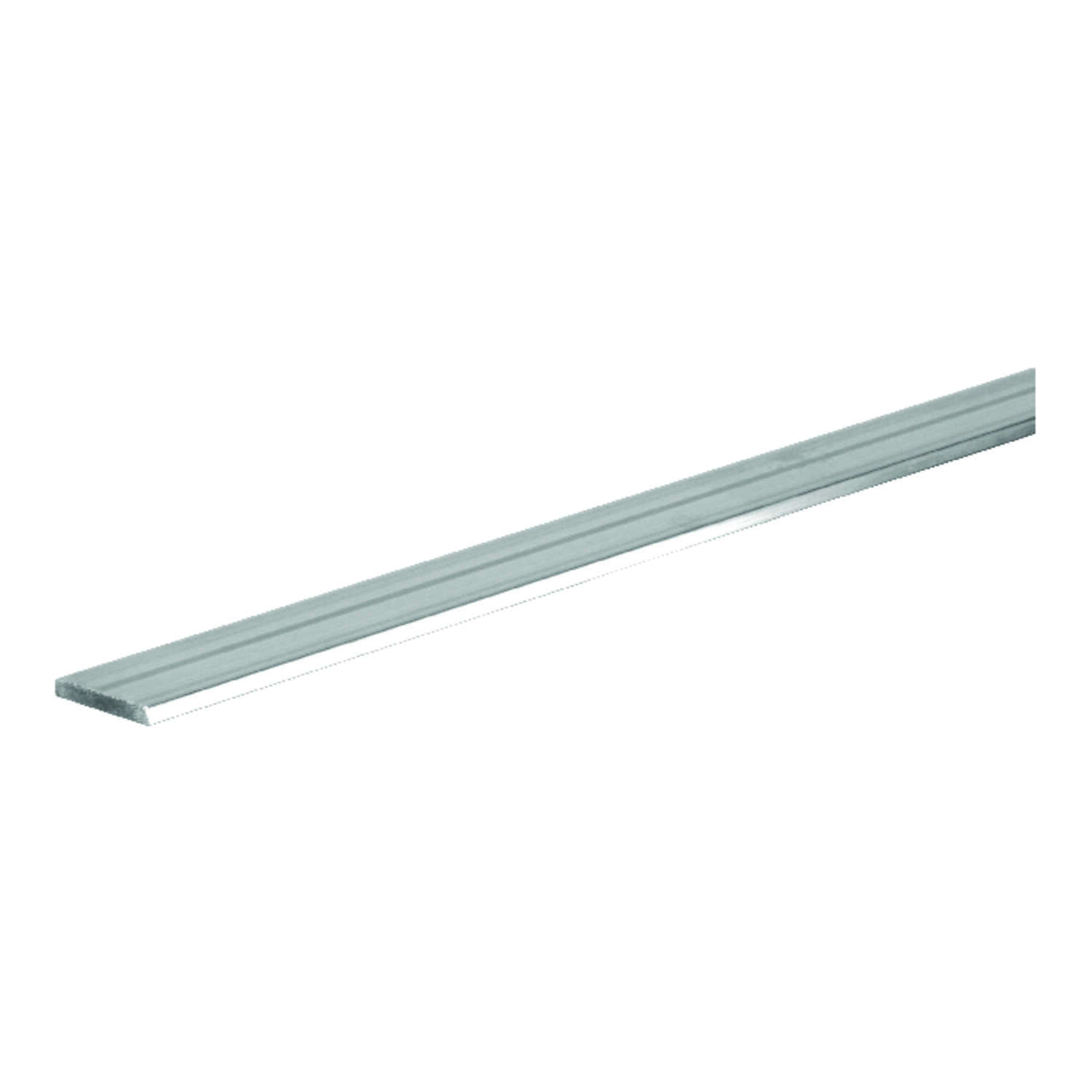 Boltmaster  0.0625 in.  x 1 in. W x 3 ft. L Weldable Aluminum Flat Bar  1 pk
