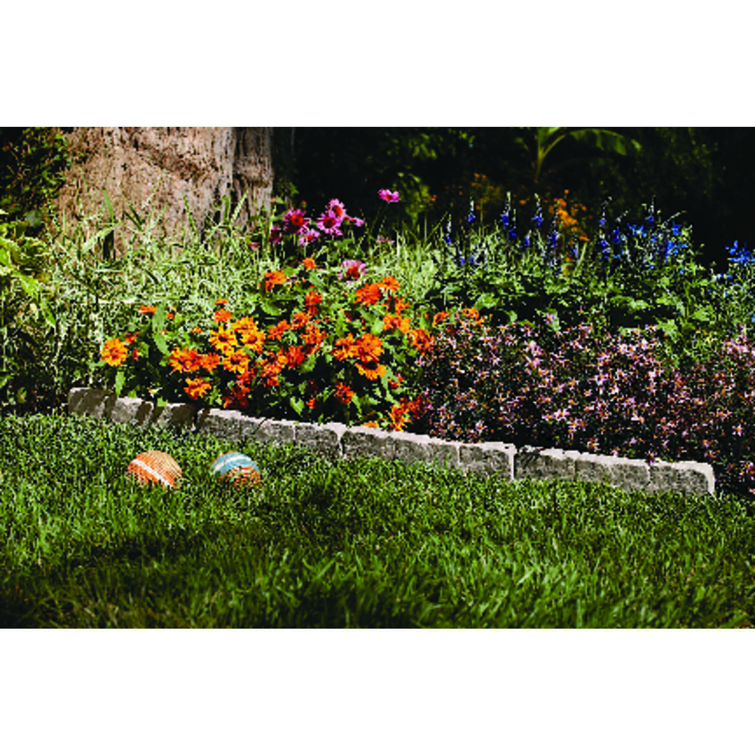 Suncast 10 ft. L x 5.75 in. H Lawn Edging Natural Resin - Ace Hardware