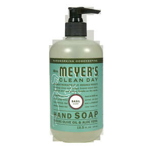 Mrs. Meyer's Clean Day 12.5 Liquid Hand Soap Basil Scent