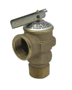 Cash Acme  1/2 in. Dia. Pressure Relief Valve