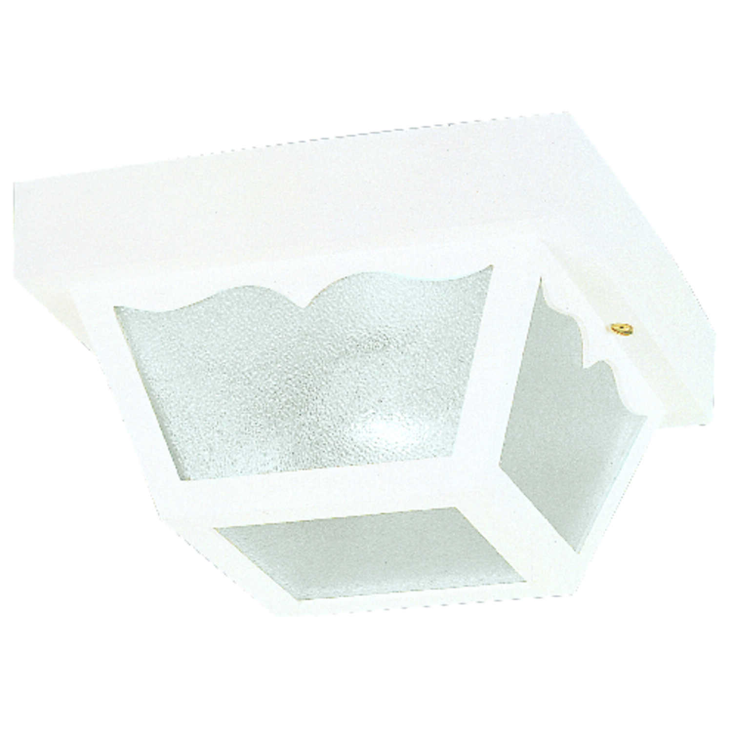 Westinghouse  Matte  White  Incandescent  Light Fixture