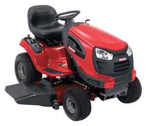 Craftsman  46 in. W 540 cc Mulching Capability Riding  Lawn Tractor