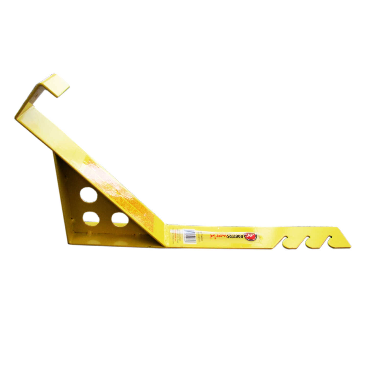 Roofers World  Endura  Steel  Yellow  Roof Bracket  1 pk
