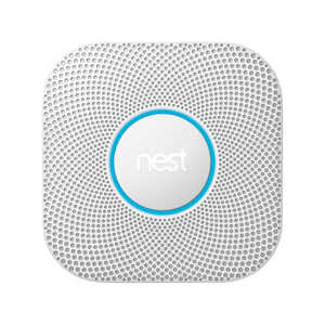 Nest Protect  2nd Generation  Battery-Powered  Split-Spectrum  Connected Home Smoke and CO Detector