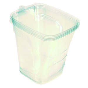 Werner  Flexible Plastic  Clear  Paint Cup Liner  4 each