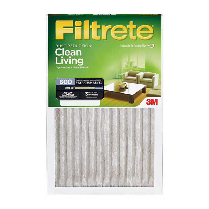 3M  Filtrete  20 in. W x 25 in. H Pleated Air Filter