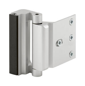 Prime-Line  Satin Nickel  Silver  Aluminum  Entry Door Blocker  1 pk