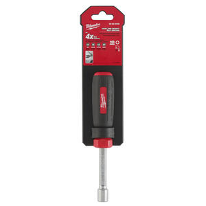 Milwaukee  10 mm Metric  Hollow Shaft Nut Driver  7 in. L 1 pc.