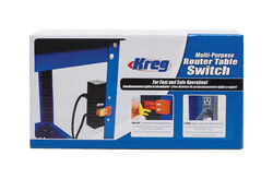 Kreg  9 in. L x 4 in. W Multi-Purpose  Router Table Switch  1 pc.