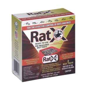 RatX  Non-Toxic  Bait  Pellets  For Mice and Rats 6 oz.