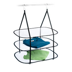 Homz 32 in. H x 26.5 in. W x 18 in. D Hanging Clothes Drying Rack