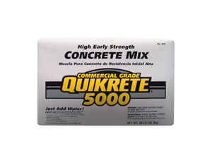 Quikrete  5000  High Early Strength Concrete Mix  80 lb.