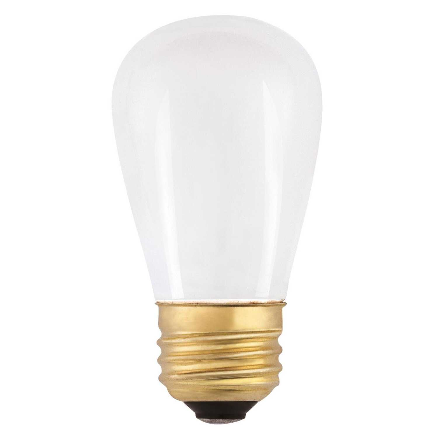 Westinghouse  11 watts S14  Speciality  Incandescent Bulb  E26 (Medium)  White  1 pk
