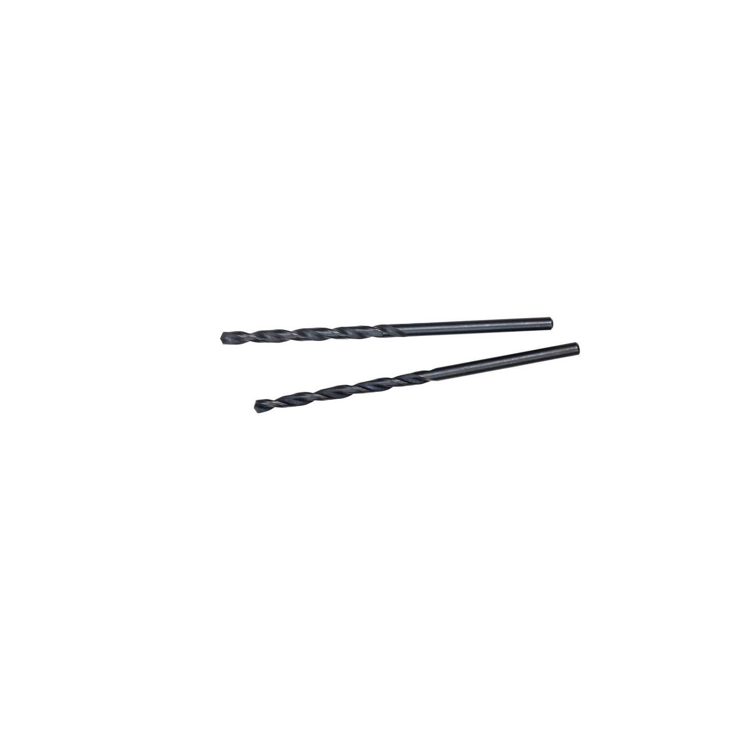 Milwaukee  THUNDERBOLT  3/32 in. Dia. x 2-1/4 in. L Black Oxide  Drill Bit  2 pc.