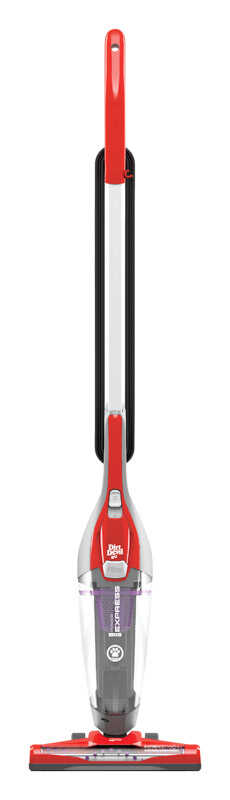Dirt Devil  Power Express  Bagless  Stick Vacuum  2 amps Standard  Gray