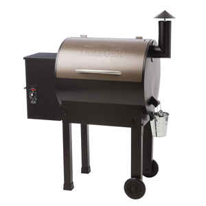Traeger  Lil'Tex Elite 22  Bronze  Wood Pellet  Grill