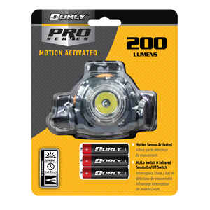 Dorcy  DieHard  200 lumens Green  LED  Head Lamp  AAA Battery