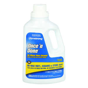 Armstrong  Once'N Done  Citrus Scent Floor Cleaner  64 oz. Liquid