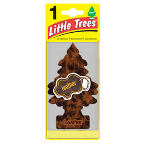 Little Trees  Leather  1 pk Car Air Freshener
