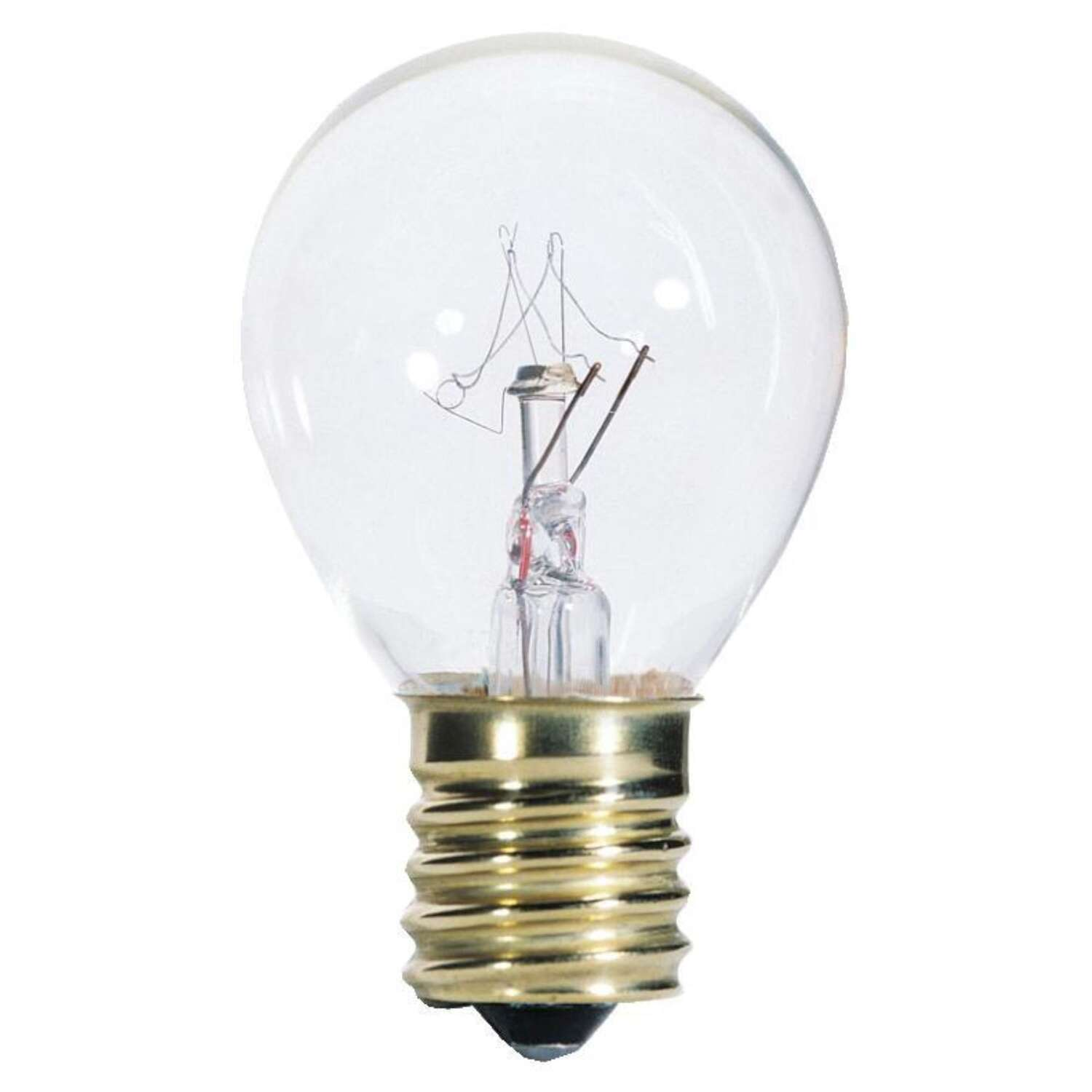 Westinghouse  25 watts S11  Speciality  Incandescent Bulb  E17 (Intermediate)  White  1 pk