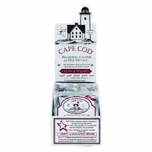 Cape Cod  Vanilla Scent Fine Metal Cleaner and Polish  2 pk Cloth