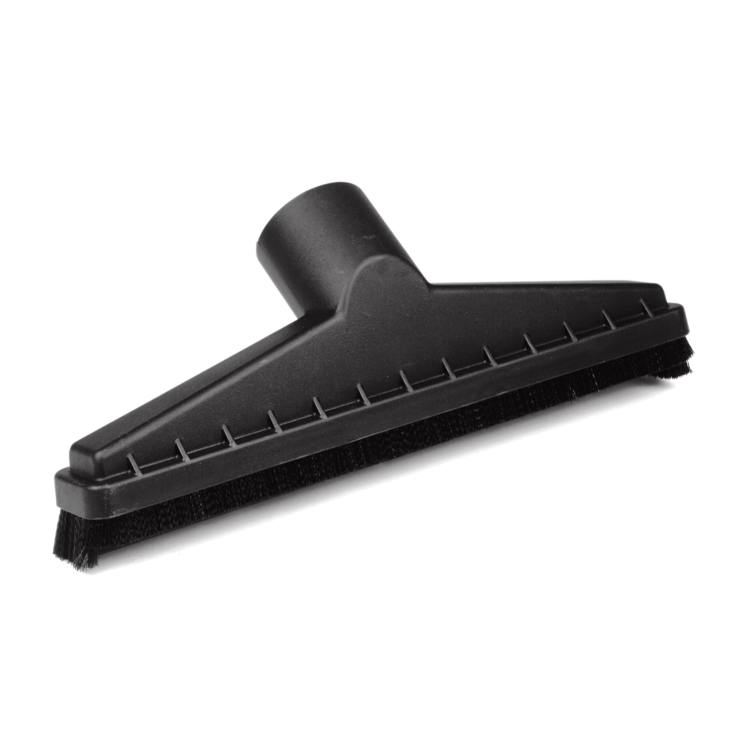 Craftsman  5  L x 15 in. W x 2-1/2 in. Dia. Floor Brush  Black  1 pk
