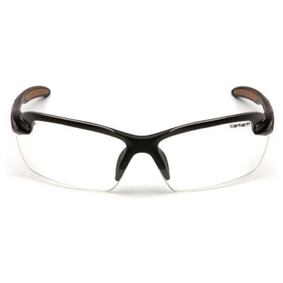 Carhartt Spokane Anti-Fog Spokane Safety Glasses Clear Lens Black Frame 1 pc.