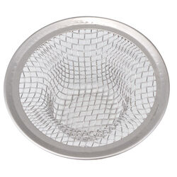 Whedon  2-1/4 in. Dia. Chrome  Sink Strainer