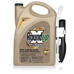Roundup  Extended Control Plus Weed Preventer II  Weed and Grass Killer  RTU Liquid  1.1 gal.