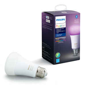 Philips  Hue  A19  E26 (Medium)  Smart WiFi LED Bulb  Color Changing  60 Watt Equivalence 1 pk