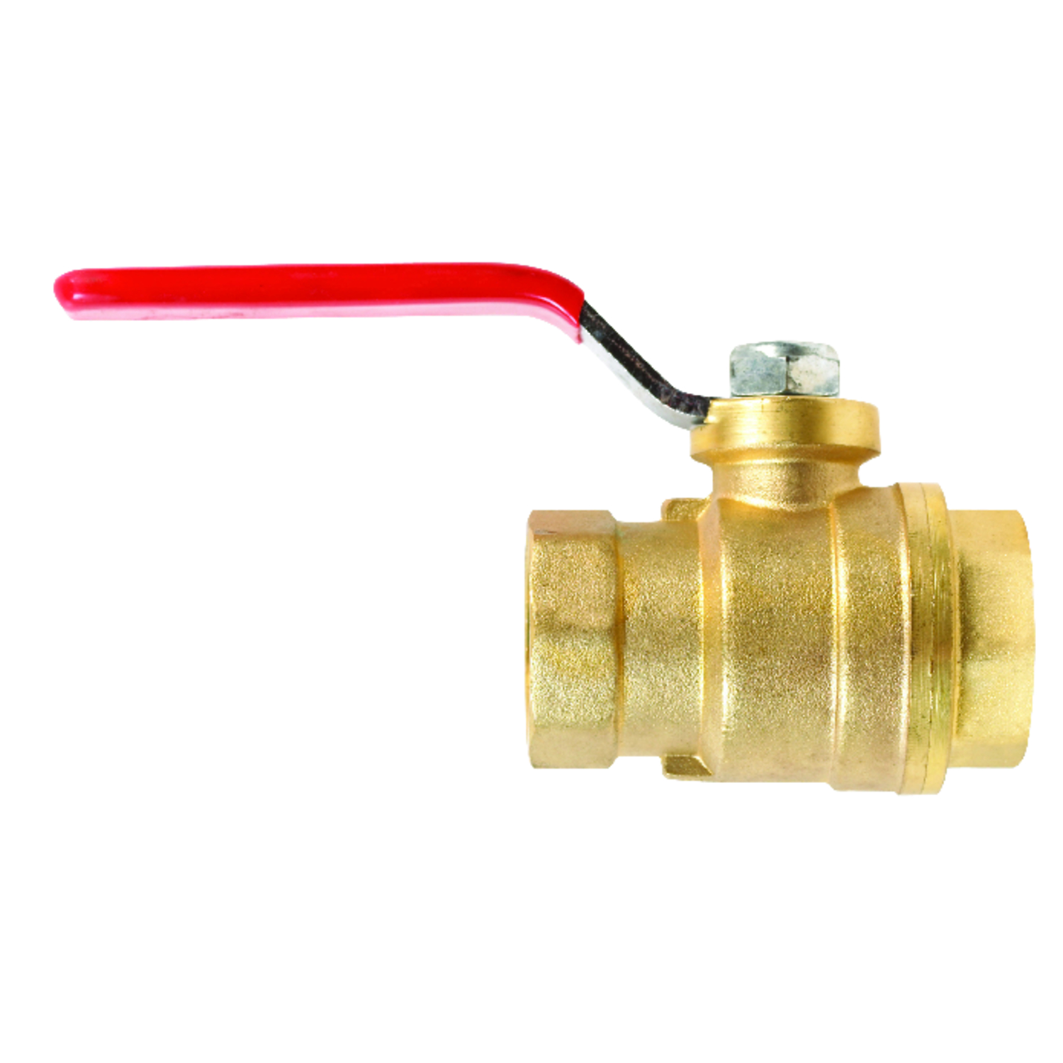 Mueller  Ball Valve  3/4 in. FPT   x 3/4 in. Dia. FPT  Brass  Side Drain