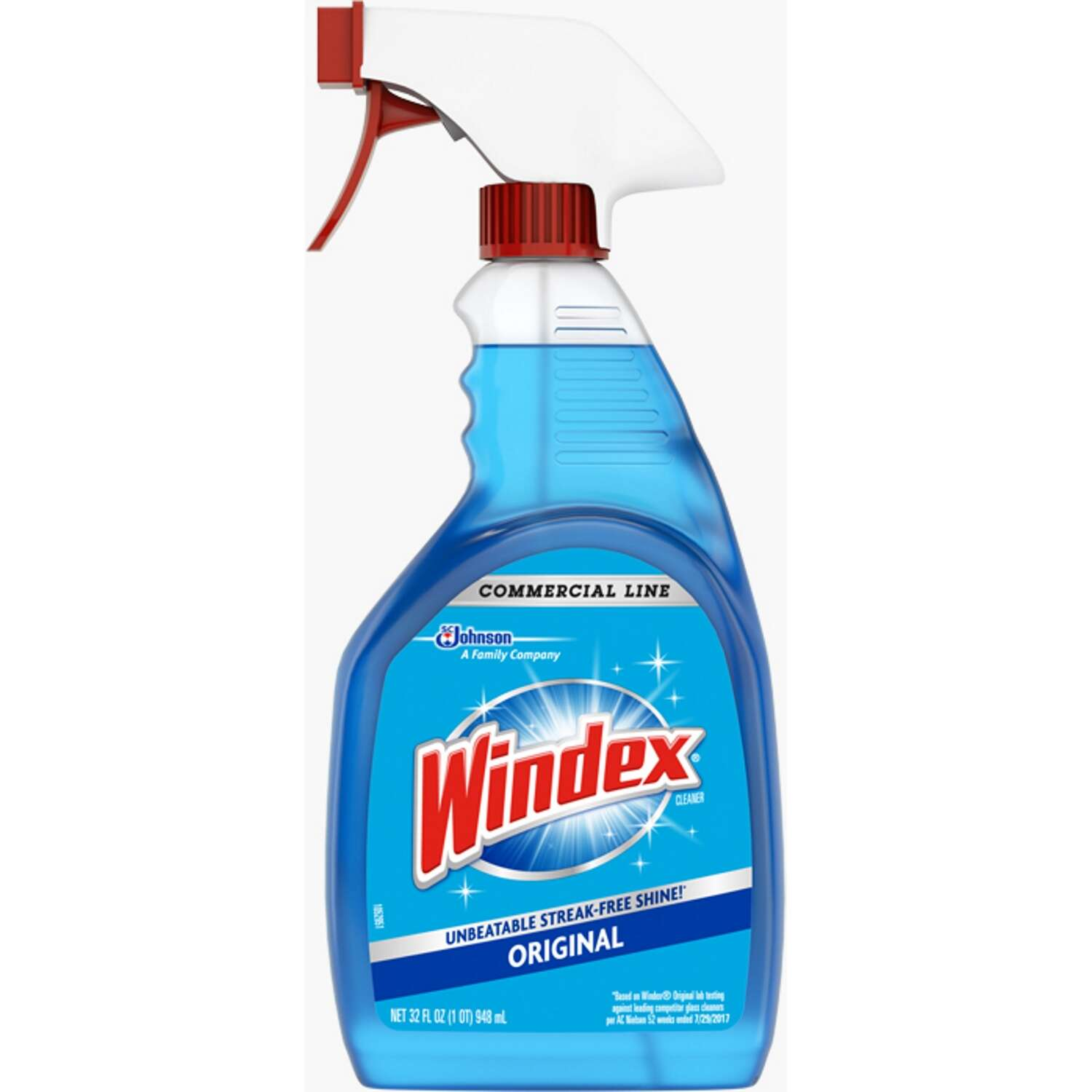 Windex  Original  No Scent Glass Cleaner  32 oz. Liquid