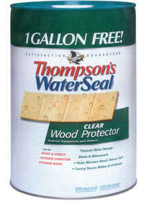 Thompson's Waterseal  Clear  Oil-Based  Waterproofer Wood Protector  6 gal.