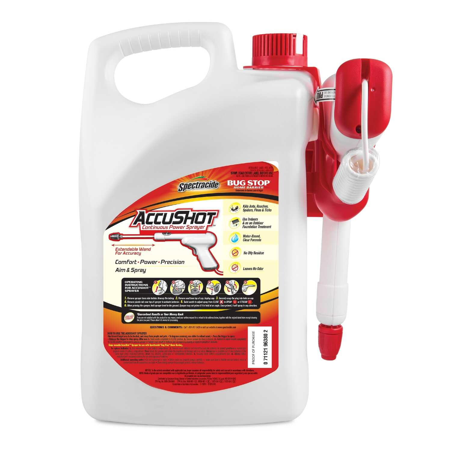Spectracide  Bug Stop Home Barrier  Insect Killer  1.33 gal.