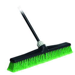 O-Cedar  Maxi Lok  Plastic  24 in. Multi-Surface Push Broom