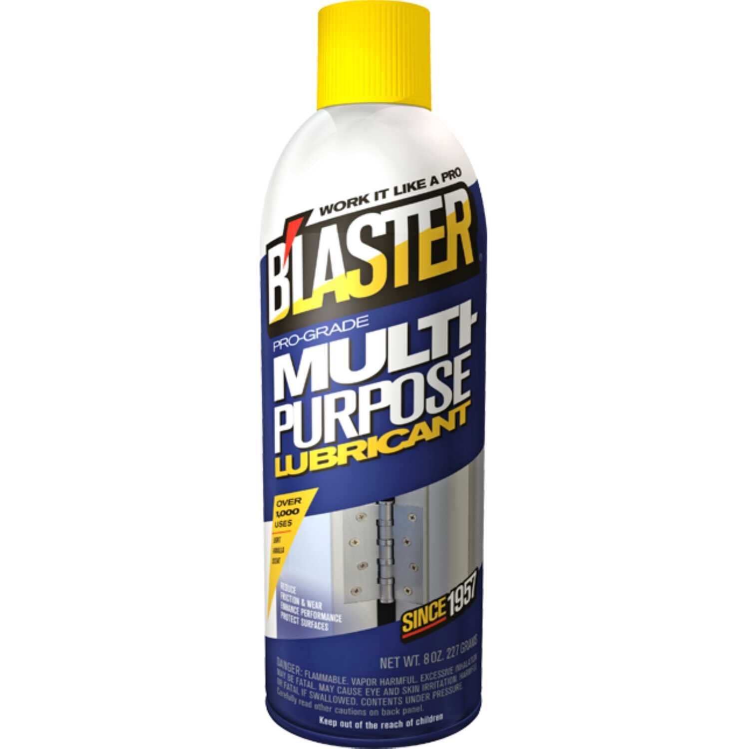 Blaster  Pro-Grade  General Purpose  Lubricant Spray  8 oz.