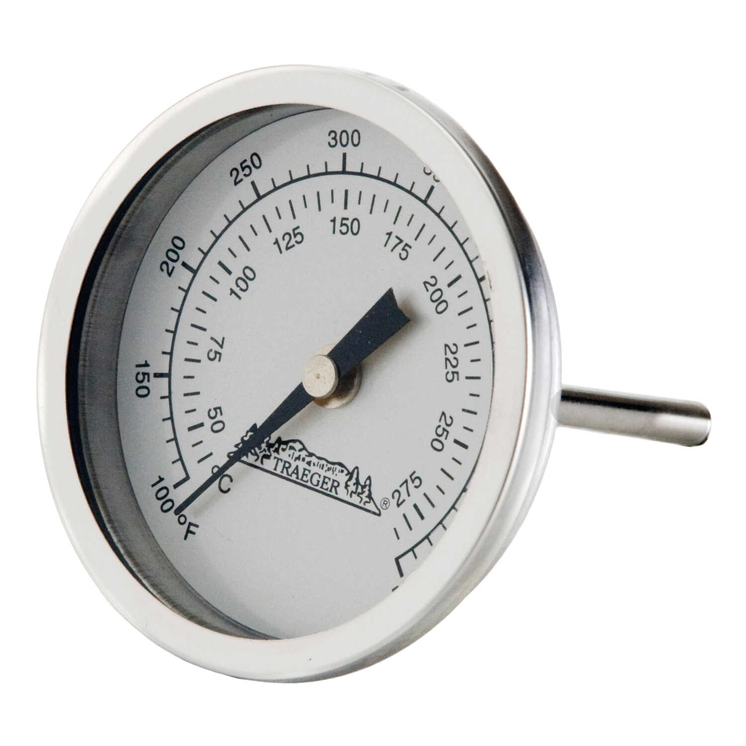 Traeger  Instant Read Analog  Grill Dome Thermometer
