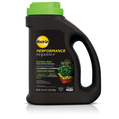 Miracle-Gro  Performance Organics  Granules  Raised-Bed Plant Food  2.5 lb.