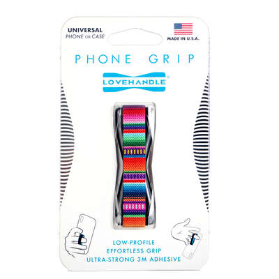 LoveHandle  Multicolored  Serape  Phone Grip  For All Mobile Devices