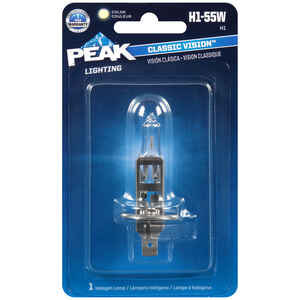 Peak  Classic Vision  Halogen  Automotive Bulb  H1-55W  1 pk