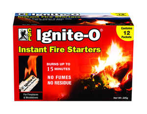 CSL  Ignite-O  Wax  Fire Starter  1 cu. in.