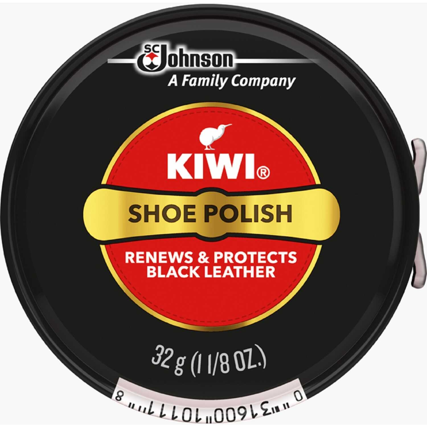Kiwi  Parade Gloss  Black  Shoe Polish  1-1/8 oz.