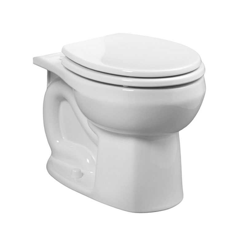 American Standard  Colony  Round  Toilet Bowl  1.6  White